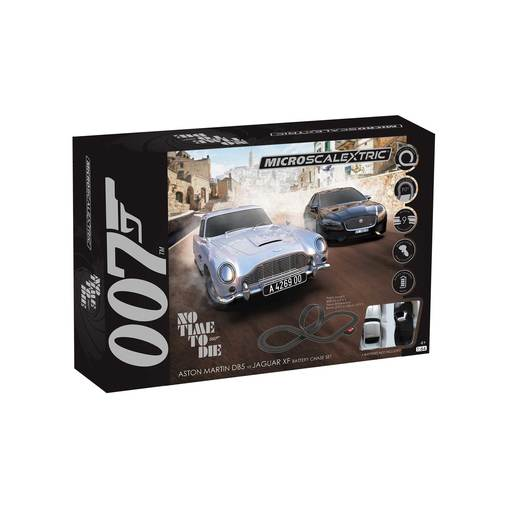 Micro Scalextric - James Bond Set - No Time To Die