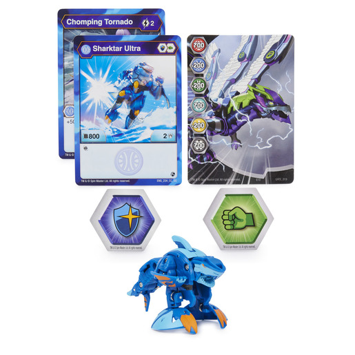 Bakugan: Geogan Rising - 1pk Series 3 Ultra Collectible Action Figure and Trading Cards (Styles Vary)