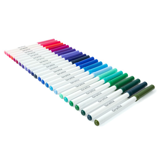 Super Tips Washable Marker Pens 50pk (Colours Vary)