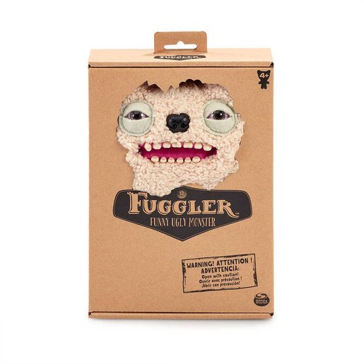 Fuggler 22cm Funny Ugly Monster - Old Tooth (Cream)
