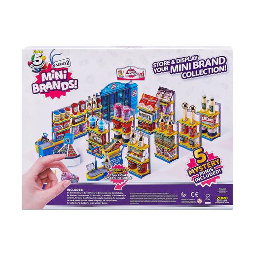 5 Surprise Mini Brands Mini Mart Set by ZURU (Series 2)