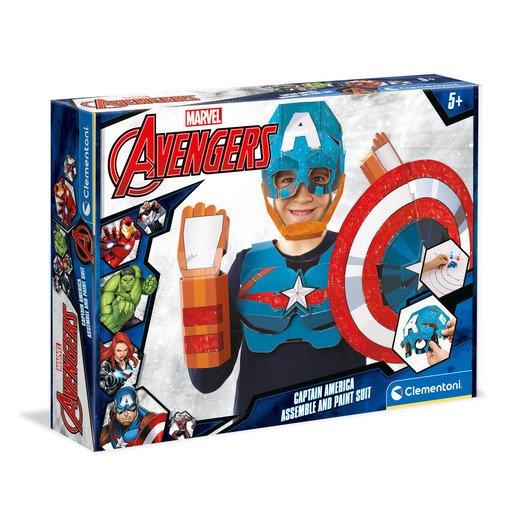 Clementoni - Marvel Captain America Mask