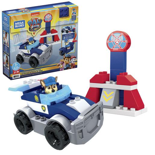 Mega Bloks Paw Patrol: The Movie - Chase's City Police Cruiser Set