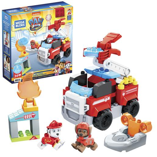 Mega Bloks Paw Patrol: The Movie - Marshall's City Fire Rescue Set