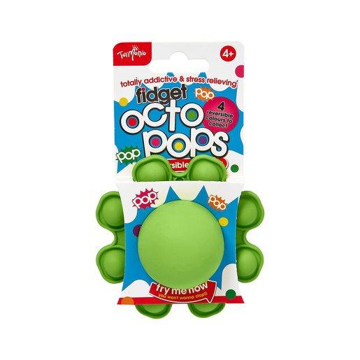 Reversible Silicon Octopus Fidget Pop (Styles Vary)