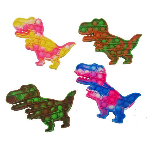 Push Popper Fidget Toy - Dinosaur Tie-dye (Styles Vary)